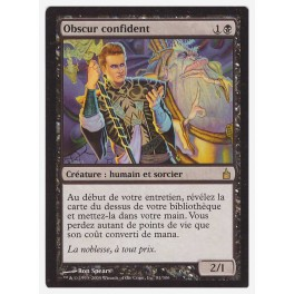 MTG Magic ♦ Ravnica ♦ Obscur Confident VF FOIL NM (G)