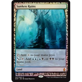 MTG Magic ♦ Oath of the Gatewatcher ♦ Sunken Ruins Expedition English FOIL Full Art Mint