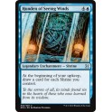 MTG Magic ♦ Eternal Masters ♦ Honden of Seeing Winds English Mint