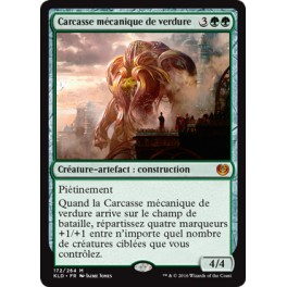 MTG Magic ♦ Kaladesh ♦ Carcasse Mécanique de Verdure VF Mint