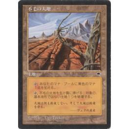 MTG Magic ♦ Tempest ♦ Wasteland Japanese NM-EX