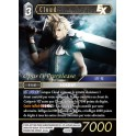 Final Fantasy FF TCG ♦ Promo Opus IV ♦ Cloud FOIL French Mint