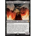 MTG Magic ♦ Dominaria ♦ Seigneur démon Belzenlok FOIL French Mint