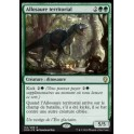 MTG Magic ♦ Dominaria ♦ Allosaure territorial FOIL PROMO PRERELEASE French Mint