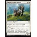 MTG Magic ♦ Dominaria ♦ Éléphant d'excavation French Mint