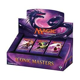 MTG Magic ♦ Iconic Masters ♦ Display 24 boosters Scealed