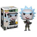 Funko POP ♦ Chase Limited Edition ♦ Rick & morty 176 weaponized rick chase