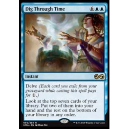 MTG Magic ♦ Ultimate Masters ♦ Dig Through Time English Mint