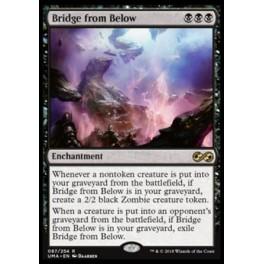 MTG Magic ♦ Ultimate Masters ♦ Bridge from Below English Mint
