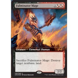 MTG Magic ♦ Ultimate Masters Box Topper ♦ Fulminator Mage FOIL English Mint