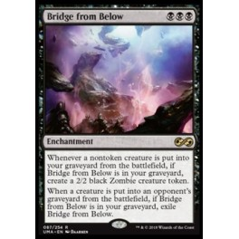 MTG Magic ♦ Ultimate Masters ♦ Bridge from Below FOIL English Mint
