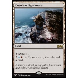 MTG Magic ♦ Ultimate Masters ♦ Desolate Lighthouse FOIL English Mint