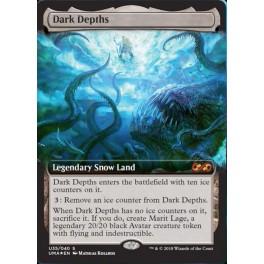 MTG Magic ♦ Ultimate Masters Box Topper ♦ Dark Depths FOIL English Mint