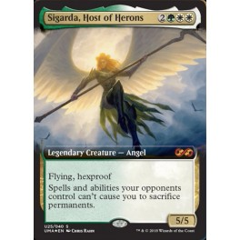 MTG Magic ♦ Ultimate Masters Box Topper ♦ Sigarda, Host of Herons FOIL English Mint
