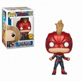 Funko POP ♦ Chase Limited Edition ♦ Marvel 425 Captain Marvel