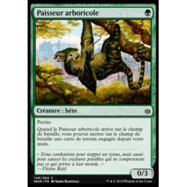 MTG Magic ♦ War of the Spark ♦ Paisseur arboricole French Mint