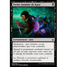 MTG Magic ♦ War of the Spark ♦ Forme fantôme de Kaya French Mint