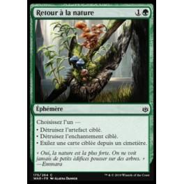 MTG Magic ♦ War of the Spark ♦ Retour à la nature FOIL French Mint