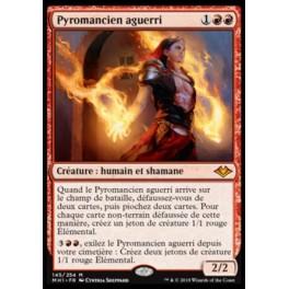 MTG Magic ♦ Modern Horizons ♦ Pyromancien aguerri French Mint