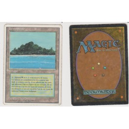 MTG Magic ♦ 3rd Edition 1994 ♦ Ile Tropicale / Tropical Island French Played (A)