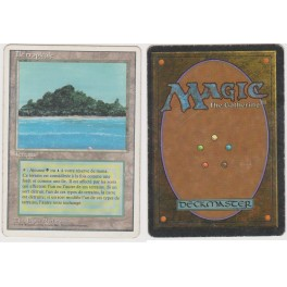 MTG Magic ♦ 3rd Edition 1994 ♦ Ile Tropicale / Tropical Island French Played (B)