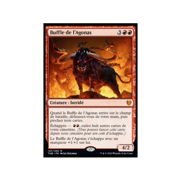 MTG Magic ♦ Theros Beyond Death ♦ Tymaret appelle les morts French Mint