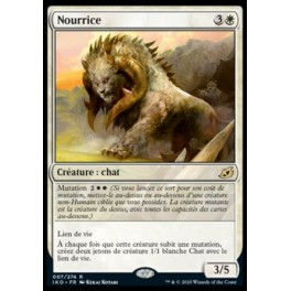 MTG Magic - Ikoria - Nourrice / Cubwarden FOIL French Mint