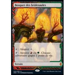 MTG Magic -Zendikar Rising Expedition- Bosquet des brulesaules/Grove of the Burnwillows FR Mint