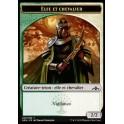 MTG Magic ♦ Guilds of Ravnica ♦ Elfe et Chevalier Token x4 French Mint