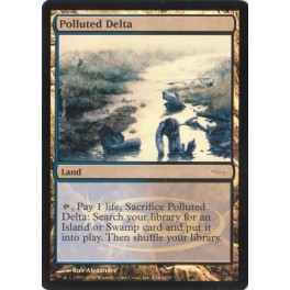 MTG Magic ♦ DCI Judge Gift ♦ Polluted Delta English FOIL NM