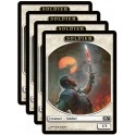 MTG Magic ♦ M13 Edition ♦ Token Soldat 1/1 x4 VF NM