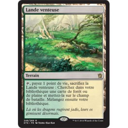 MTG Magic ♦ Khans of Tarkir ♦ Lande Venteuse VF NM